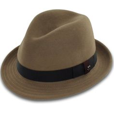 Belfry Paine - Murino Wool Fedora  $119 from Hats in the Belfry