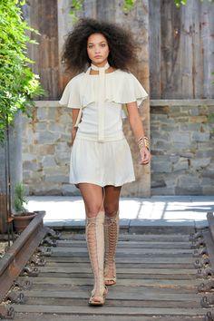 Skaist Taylor at New York Fashion Week Spring 2013 - StyleBistro