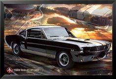 Ford Shelby - Mustang 66 GT 350 Pósters en AllPosters.es