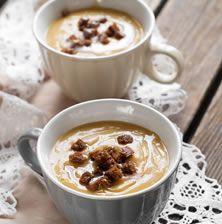 Η ωραιότερη και πιο νόστιμη χειμωνιάτικη καστανόσουπα που έχετε δοκιμάσει!! Greek Recipes, Soup Recipes, Christmas Time, Deserts, Food And Drink, Pudding, Cooking, Foods, Knitting