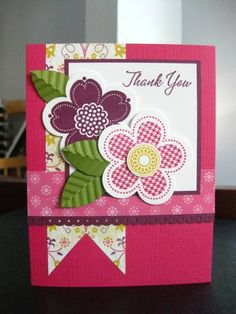 SSSC126 Posy Punch by Kittygirl - Cards and Paper Crafts at Splitcoaststampers