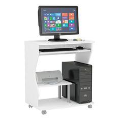 Mesa para Computador Branca Politorno Verona | Carrefour