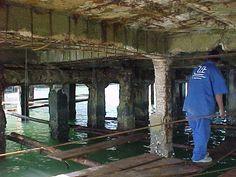 Recuperação estrutural de vigas e pilares do Pier da Vila de Ilha Bela