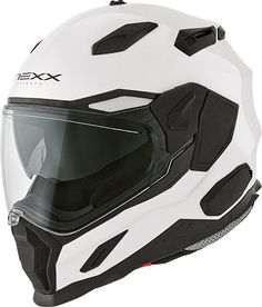 The brand new Nexx helmet can be worn in different styles to match your ride: Street, Adventure or Off-Road. Custom Helmets, Helmet Design, Riding Gear, Moto Guzzi, Motorcycle Outfit, Motorcycle Helmets, Headgear, Toys For Girls, Ducati