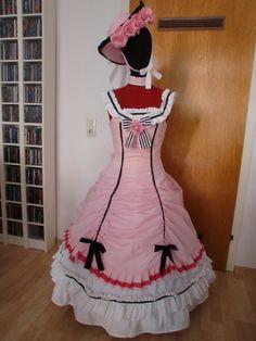 Ciel Black Butler ballgown dress cosplay costume Kleid Kostüm