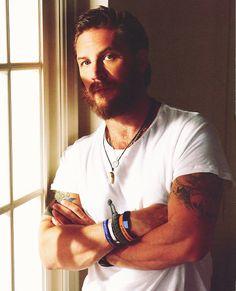 Tom Hardy (hot,actor,british,beard)