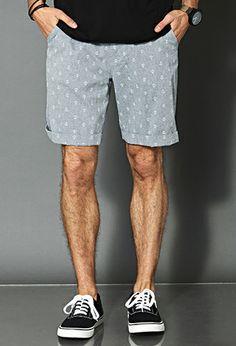 Nautical Chambray Shorts   21 MEN - 2000089694