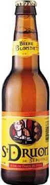 Cerveja St. Druon de Sebourg, estilo Biere de Garde, produzida por Brasserie Duyck, França. 6% ABV de álcool.