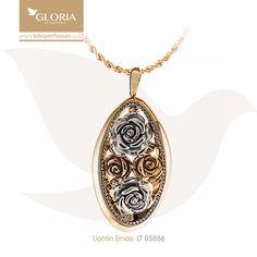Liontin Emas Oval Variasi Hiasan Bunga Mawar. #goldpendant #goldstuff #gold #goldjewelry #jewelry #pendant #perhiasanemas #liontinemas #tokoperhiasan #tokoemas