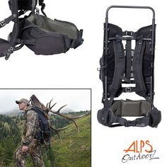Camping Bags : Backpack and accessories :Sports Afield-Escort Pack >>> Don't get left behind, see this great product : Camping Bags Backpack and accessories