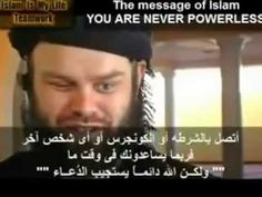 Blind American convert to Islam after hearing a verse from the Quran