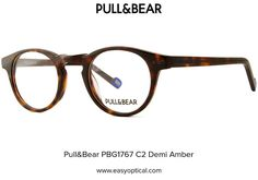 Pull&Bear PBG1767 C2 Demi Amber Amber, Eyewear, Easy, Eyeglasses, Sunglasses, Ivy, Eye Glasses, Glasses