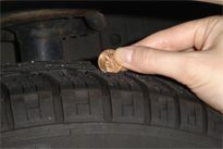 The Penny Test - Is it time to replace your tire? Try the penny test!