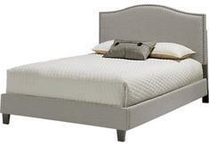 Belfield Silver 3 Pc Queen Bed. $250.00. 86L x 64W x 54H. Find affordable Beds for your home that will complement the rest of your furniture.