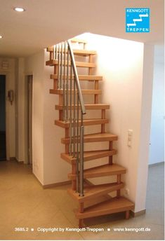 Compact stairs - All About Gardens Loft Staircase, Attic Stairs, Open Stairs, Tiny House Stairs, Basement House, Attic Renovation, Basement Renovations, Compact Stairs, Home Stairs Design