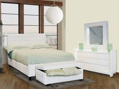White Bedroom Furniture – Bedroom Shine in White Buy Bedroom Furniture, Home Furniture, Bedroom Decor, Furniture Ideas, Modern Furniture, Bedroom Ideas, Cool Beds, Minimalist Bedroom, White Bedding