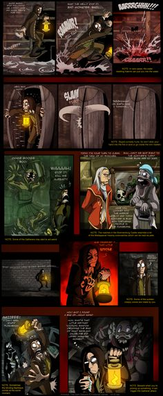 Amnesia - Notes by *IsisMasshiro on deviantART. Everyone that has ever played Amnesia knows that when you pick something important up you run and hide