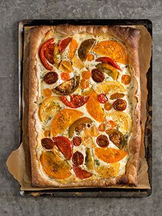 Beekman Boys' Tomato Tart, vegetable recipes