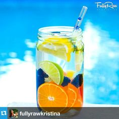 Fully Raw Kristina is at it again!  Infused water and a GlassDharma Straw!