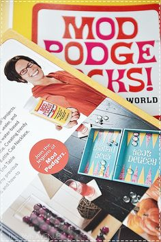 Book Review: Mod Podge Rocks by Amy Anderson. Pure AWESOMENESS!