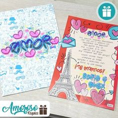 Tarjetas personalizadas!! . . #amoroso #regalos #amorosoregalos #amor #love #teamo #cute #tarjeta #personalizada #letrasbonitas #letratimoteo #beauty #beautiful #amazing #pretty #design #handmade #inspiration #sabaneta #itagui #envigado #medellin #bello #caldas #colombia Origami, Projects To Try, Lettering, Cool Stuff, Gifts, Love Gifts, Boyfriend Stuff, Cute Gifts, Love Posters