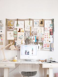 Home Office // Desk // Apartment // Interior Design // Home design ideas decorating before and after room design decorating Home Office Inspiration, Workspace Inspiration, Inspiration Boards, Office Ideas, Desk Inspo, Moodboard Inspiration, Office Inspo, Business Office Decor, Office Designs
