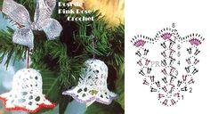 Sinhinho+Croche+Ornamento+Natal.+PRose+Crochet.JPG 698×380 pixels