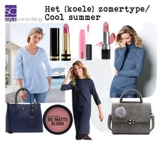 """Het koele zomertype/ cool summer."" by roorda on Polyvore featuring mode, Prada, Avon, Gucci en MAC Cosmetics"