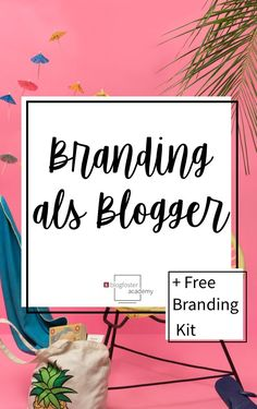 So kriegst du den gewissen Wiedererkennungswert für deinen Blog! Jetzt auf dem Academy Blog #branding #bloggerbranding #howtoblog #blogdesign Seo Marketing, Content Marketing, Online Marketing, Branding Kit, Branding Design, Corporate Design, Social Bookmarking, How To Start A Blog, My Design