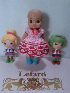 Платья для маленьких куколок ростиком 10-12 см, хорошо сидят на Мини-птичках…
