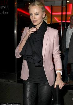 Charlise Theron..always has flawless make up, hair, clothes, everything!