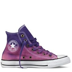 dip-dyed purple converse, found on converse.com (Chuck Taylor Dip-Dye)