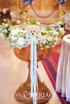 decor botez 2017 Baptism Decorations, Baby Shower Decorations, Flower Decorations, Table Decorations, Baby Boy Cookies, Baptism Favors, Church Flowers, Baby Boy Rooms, Baby Party