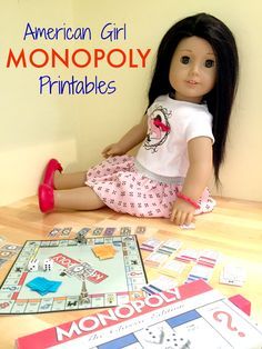 American Girl Doll Monopoly