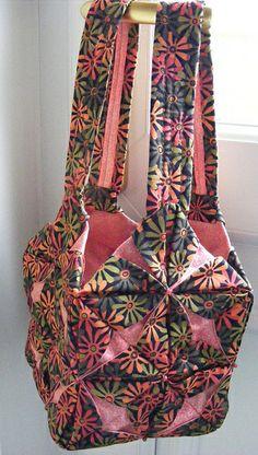 Japnese Folded Patchwork Bag | Flickr - Photo Sharing!