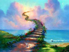 Una escalera a los sueños...