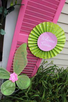 Fairy Garden party #fairy #gardenparty