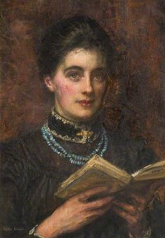 Walter Chamberlain Urwick - Portrait of the artist's wife, 1895–1910 - England