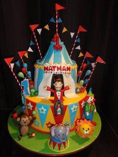 Circus Cake  Cake by SassycakesbyMel