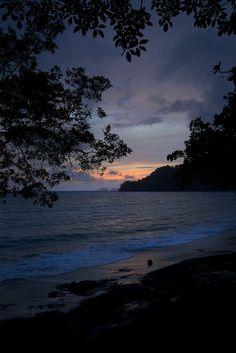 Beach Sunset - Las Catalinas - Costa Rica Bach Town