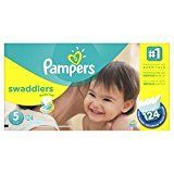 #6: Pampers Swaddlers Diapers Size 5 124 Count
