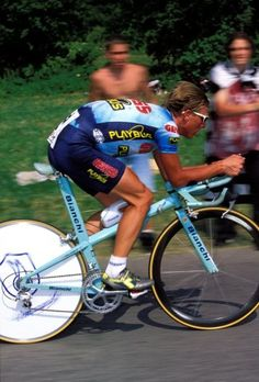 Bianchi TT bike.