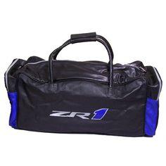 C6 ZR1 Corvette Leather Duffle Bag