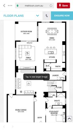 Double Garage, Outdoor Rooms, Hampshire, Sliding Doors, Floor Plans, Flooring, How To Plan, Double Carport, Sliding Door