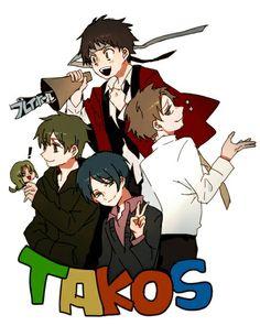 実況 TAKOS Tacos, Japan, Anime, Fictional Characters, Cartoon Movies, Anime Music, Fantasy Characters, Japanese, Animation