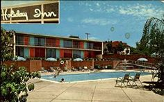 vintage holiday inn | Holiday Inn Bristol, Virginia Original Vintage Postcard at Amazon's ...