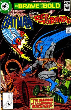 Brave & the Bold Vol. 25 No. 153 1979 Batman and Red Tornado by TheSamAntics Comic Books For Sale, Vintage Comic Books, Vintage Comics, Batman Comic Books, Batman Comics, Comic Books Art, Book Art, Windsor, Brave And The Bold