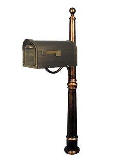 new mailbox idea - in black