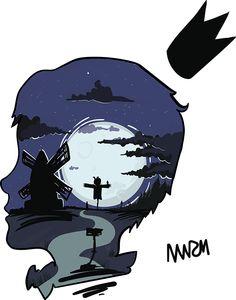 Night mind on Behance