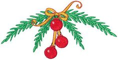 Bunnycup Embroidery | Free Machine Embroidery Designs | Christmas Doodads Too 5x7